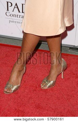 Eva La Rue's shoes  at the 8th Annual Padres Contra El Cancer's 'El Sueno De Esperanza' Benefit Gala. Hollywood and Highland Grand Ballroom, Hollywood, CA. 10-07-08