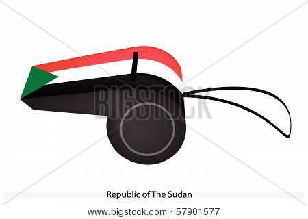 A Whistle Of Republic Of The Sudan
