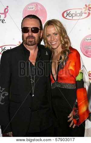 David A. Stewart and Sheryl Crow  at the concert to promote the 10th Anniversary of Yoplait's Save Lids To Save Lives Program. The Wiltern Theatre, Los Angeles, CA. 10-10-08