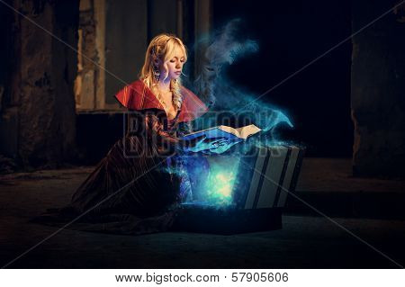 Mysterious Book Of Magic
