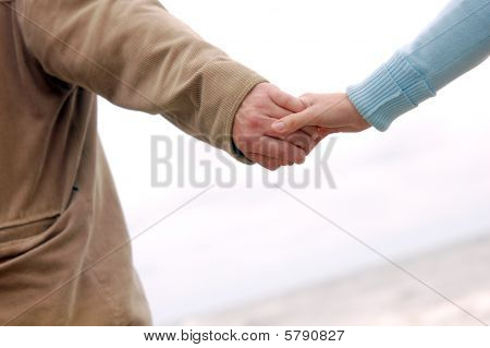Running Hand-in-hand