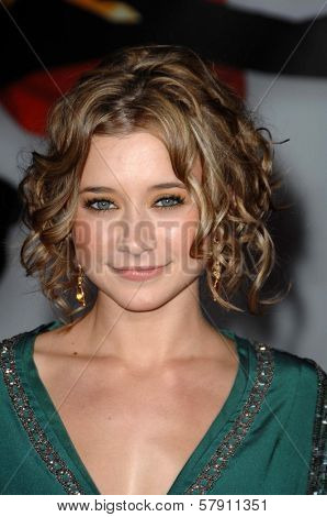 Olesya Rulin  at the Los Angeles Premiere of 'High School Musical 3 Senior Year'. USC, Los Angeles, CA. 10-16-08