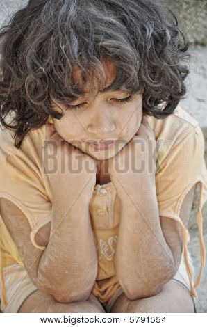 Poverty And Poorness On The Expression Of Children