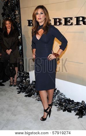 Daisy Fuentes  at the Burberry Beverly Hills Store Re-Opening. Burberry Beverly Hills Store, Beverly Hills, CA. 10-20-08