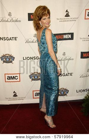 Melinda McGraw  at the live revue A Night On The Town With 'Mad Men'. El Rey Theater, Los Angeles, CA. 10-21-08