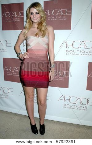 Mischa Barton  at the Grand Opening of Arcade Boutique. Arcade Boutique, Los Angeles, CA. 10-23-08