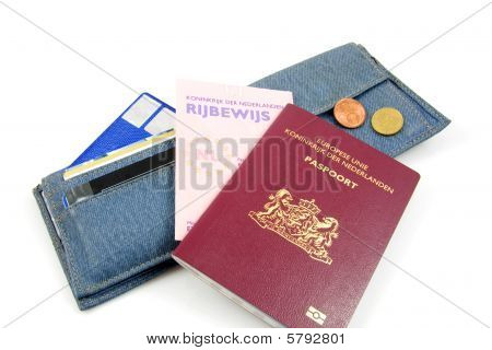 Wallet And Dutch Documents