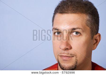 Handsome Man Face