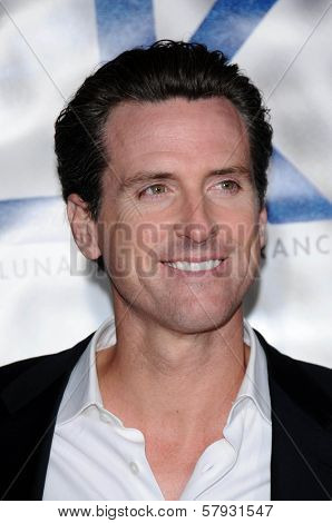 Gavin Newsom  at the Focus Features World Premiere of MILK, The Castro Theatre, San Francisco, CA. 10-28-08