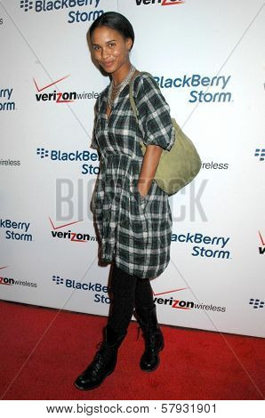 Joy Bryant  at the Launch Party for Blackberry Storm. Avalon Hollywood, Hollywood, CA. 10-29-08