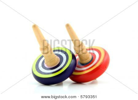 Two Spinning Top