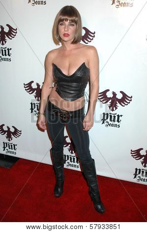 Kelly Monaco  at the Pur Jeans Halloween Bash. STK, Los Angeles, CA. 10-31-08