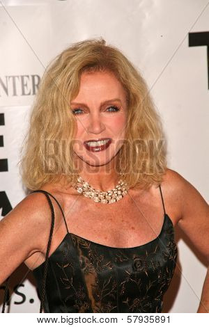 Donna Mills  at the Thalians 53rd Anniversary Ball, honoring Clint Eastwood, to benefit  Cedars-Sinai Medical Center, Beverly Hilton Hotel, Beverly Hills, CA. 11-02-08