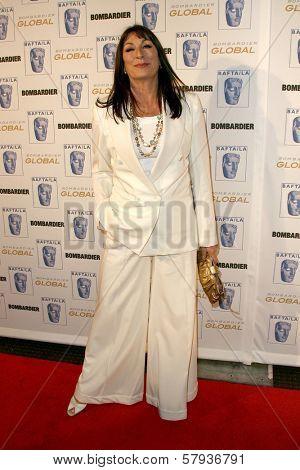 Anjelica Huston  at the 17th Annual BAFTA Britannia Awards. Hyatt Regency Century Plaza, Century City, CA. 11-06-08