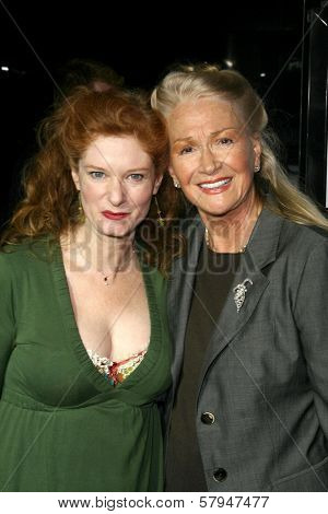 Lisa Pelikan and Diane Ladd  at the Los Angeles Premiere of 'Doubt'. AMPAS, Beverly Hills, CA. 11-18-08