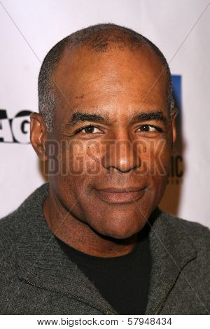 Michael Dorn  at the TNT Wrap Party for 'The Librarian' and 'Leverage'. Cabana Club, Hollywood, CA. 11-19-08