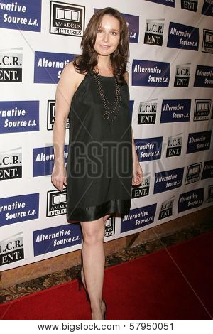 Elle Travis  at the Los Angeles Premiere of 'Mexican Gangster'. Million Dollar Theater, Los Angeles, CA. 11-21-08