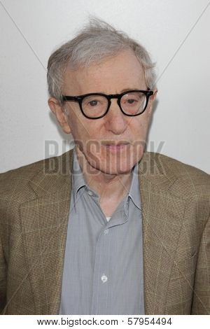 Woody Allen at the
