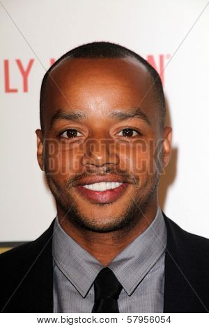 Donald Faison at the Second Annual Critics' Choice Television Awards, Beverly Hilton, Beverly Hills, CA 06-18-12