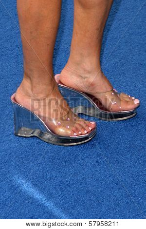 Judy Tenuta's shoes  at the