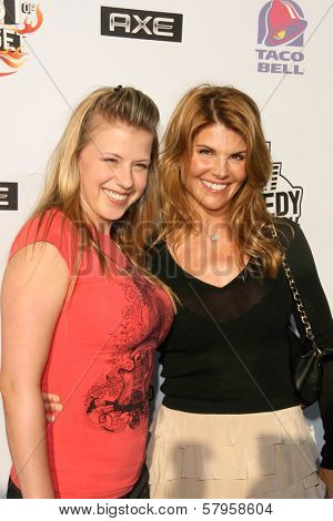 Jodie Sweetin and Lori Loughlin  at the