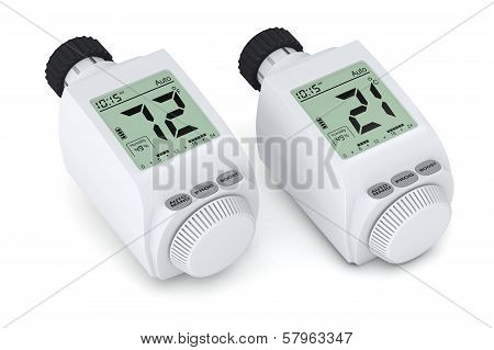 Digital Radiator Thermostatic Valve