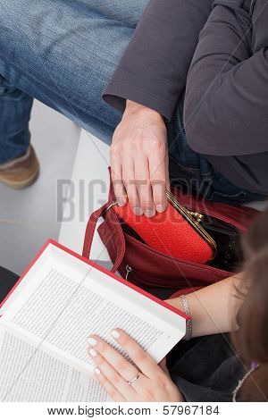 Purse Out Of Bag