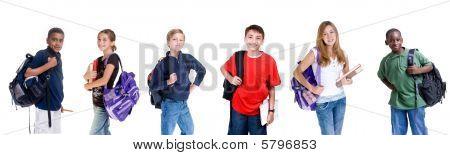 diverse Studenten