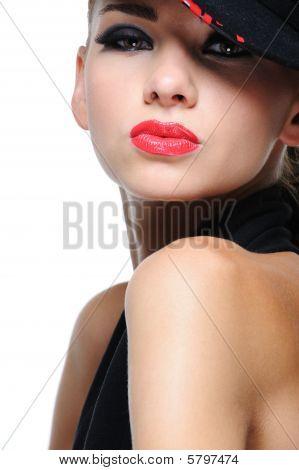 Expressive Bright Woman