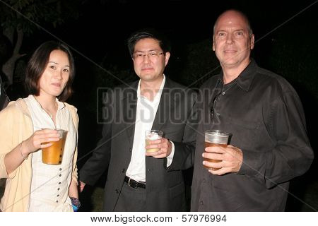 Erik Friedl and Gregory Hatanaka  at the 'Ten Nights Of Dreams' Afterparty Hosted By Cinema Epoch. Kyoto Grand Hotel and Gardens, Los Angeles, CA. 08-22-08