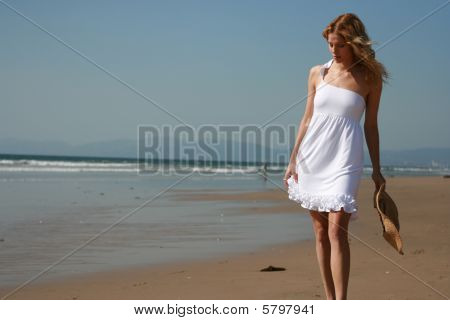 Beautiful Beach Girl