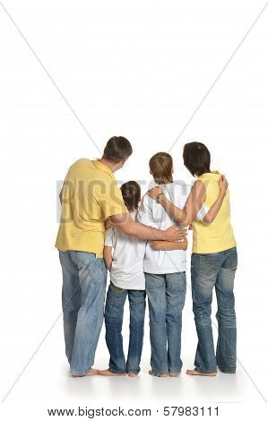 Family of four
