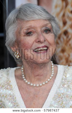 Celeste Holm  at the Los Angeles Premiere of 'The Women'. Mann Village Theatre, Westwood, CA. 09-04-08