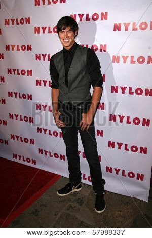 Adam Gregory  at the NYLON Magazine Party Celebrating the Launch of their TV issue. The Roosevelt Hotel, Hollywood, CA. 09-04-08