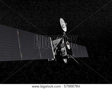 Rosetta probe - 3D render