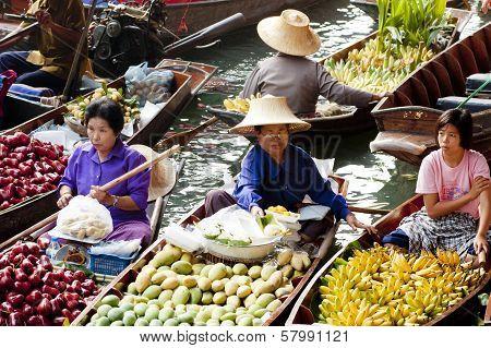 Damnoen Saduak Floating Market, Thailand