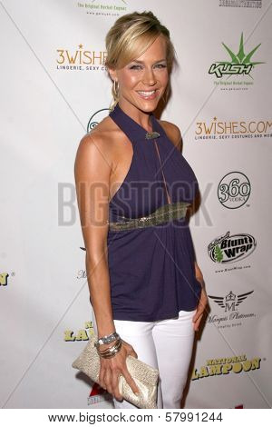 Julie Benz  at National Lampoon's 'The Great American Fantasy'. Playboy Mansion, Holmby Hills, CA. 09-06-08