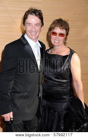 Martin Short and Nancy Dolman  at the Opening Night of the LA Opera 2008-09 Season. Dorothy Chandler Pavilion, Los Angeles CA. 09-06-08