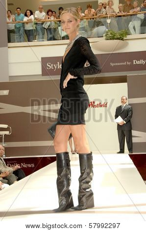 Model  at the 'Style Showcase' Fashion Show. Westfield Topanga, Canoga Park, CA. 09-06-08