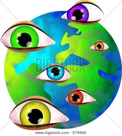 Os olhos do Senhor