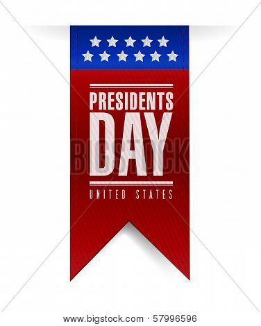 Presidents Day Banner Illustration Design