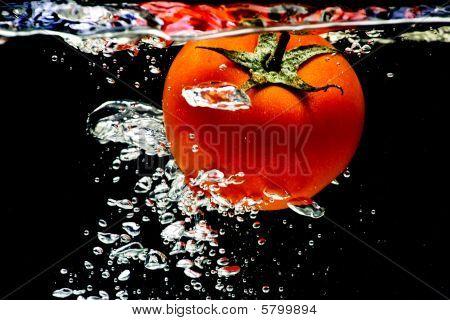 Tomato Water Splash