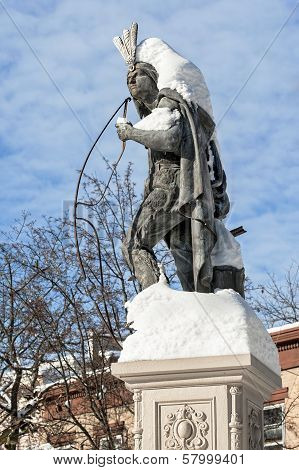 Lawrence the Indian in Winter