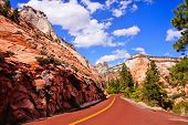 Scenic Zion National Park, USA