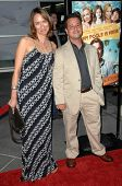 Albert Torres and Wife At the Premiere of