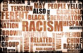 picture of racial discrimination  - Racism and Discrimination as a Grunge Background - JPG