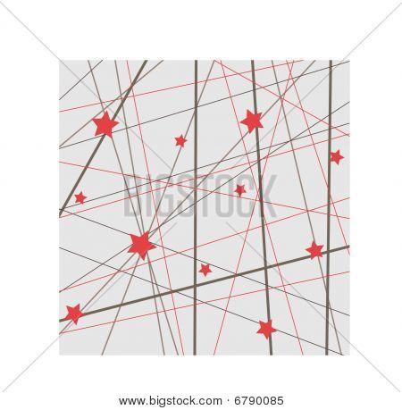 Red Stars Wallpaper Background