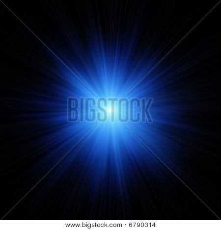 Blue Star Flash