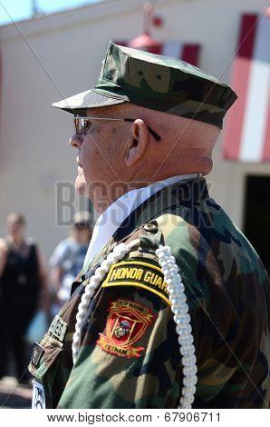 Vietnam Veteran At The Ypsilanti, Mi 4Th Of July Parade