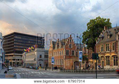 Palais Des Beaux Arts In Brussels, Belgium